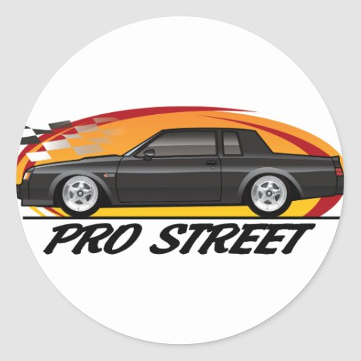 Buick Grand National Pro Street Stickers