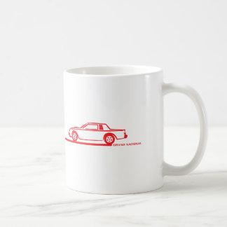 Buick Grand National Red Car Coffee Mug