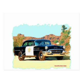 Buick Hwy Patrol Postcards