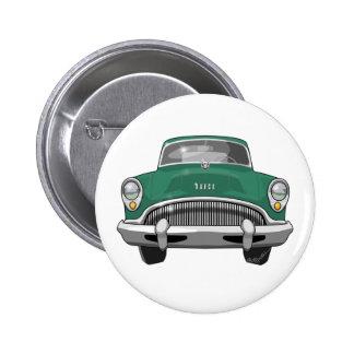 Buick Roadmaster 1954 Pin Redondo De 2 Pulgadas