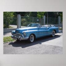 Buick Skylark 1953 Poster