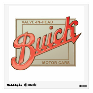 Buick valve in head vintage sign reproduction wall skins