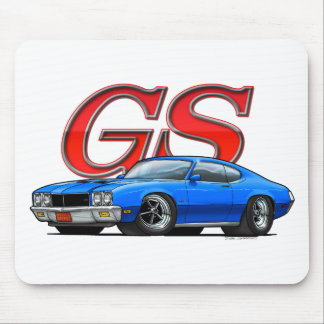 BuickGS_blue Mouse Pad
