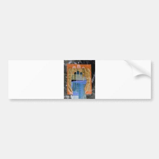 Buiddha Hand Bumper Sticker