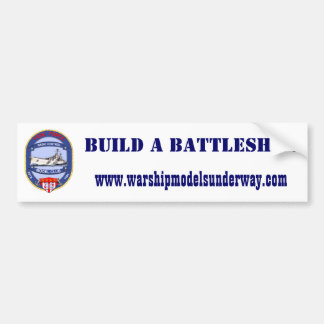 Build A Battleship Sticker