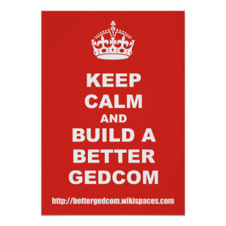 Build A Better GEDCOM Posters
