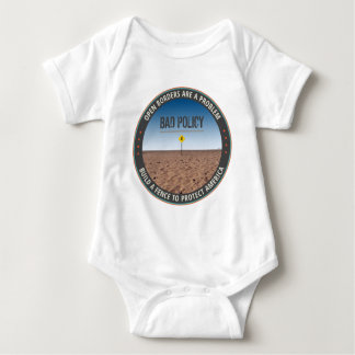 Build A Fence Baby Bodysuit