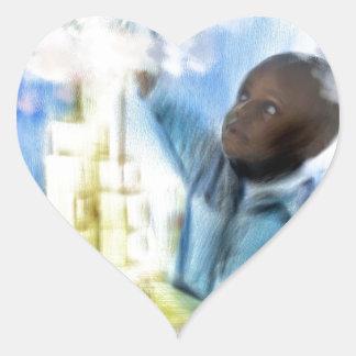 build a new model.jpg heart sticker