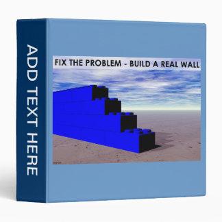 Build A Real Wall 3 Ring Binder