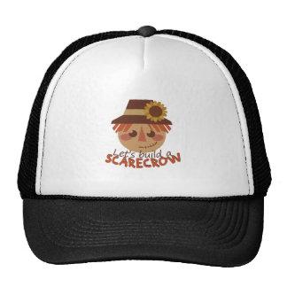 Build A Scarecrow Trucker Hat