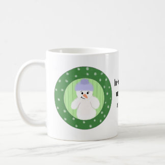 Build A Snowman Coffee Mug
