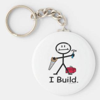 Build Basic Round Button Keychain