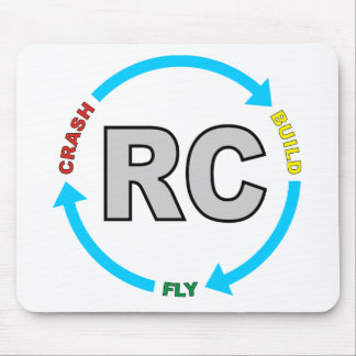 Build Crash Fly RC Mouse Pad