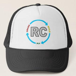 Build Crash Fly RC Trucker Hat