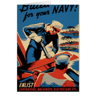Build for your Navy! Card