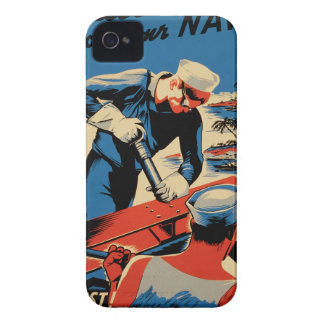Build for your Navy! iPhone 4 Cases