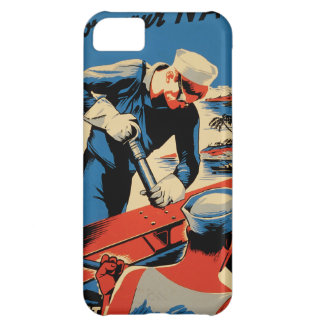 Build for your Navy! Case For iPhone 5C