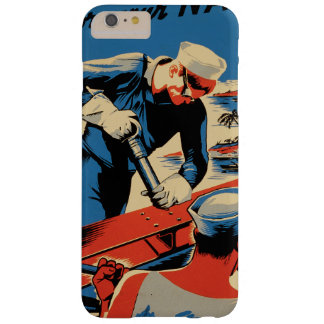 Build for your Navy! Barely There iPhone 6 Plus Case
