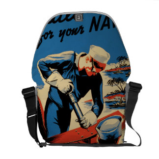Build for your Navy! Courier Bag