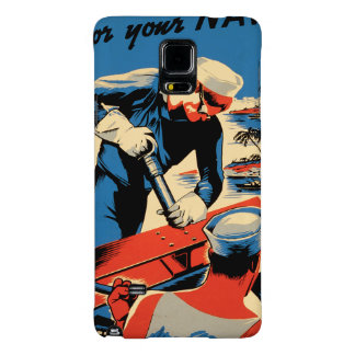 Build for your Navy! Galaxy Note 4 Case