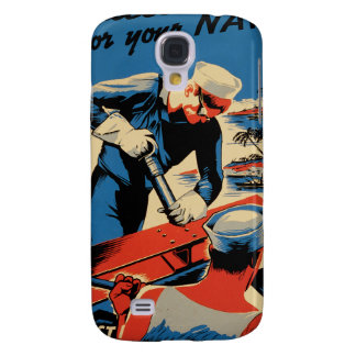 Build for your Navy! Galaxy S4 Cover