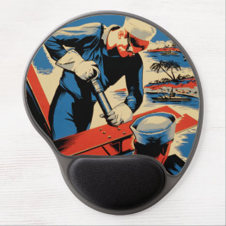 Build for your Navy! Gel Mouse Pad