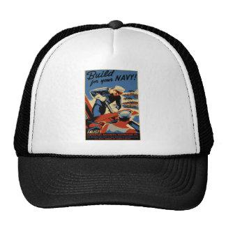 Build for your Navy Trucker Hats