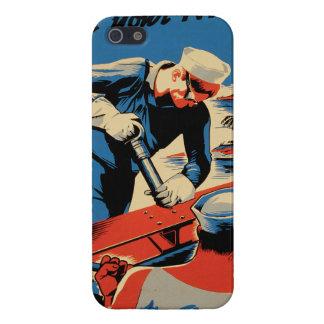 Build for your Navy! iPhone 5/5S Covers