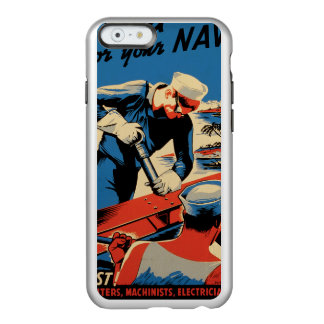 Build for your Navy! Incipio Feather® Shine iPhone 6 Case
