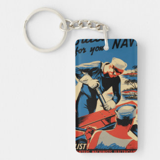 Build for your Navy! Keychain