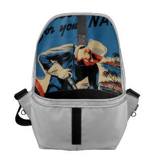 Build for your Navy! Messenger Bag