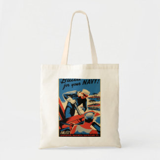 Build for your Navy! Tote Bag