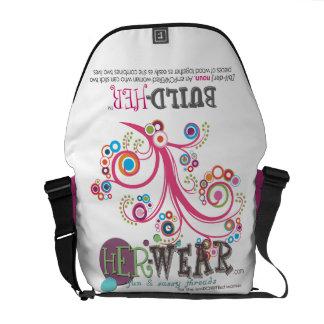 build-HER Messenger Bag