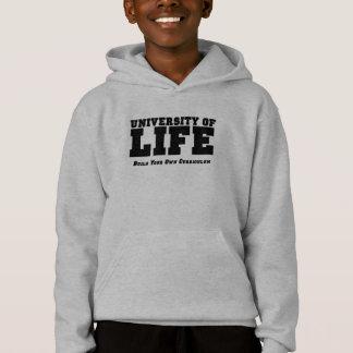 Build - l grey hooded sweatshirt