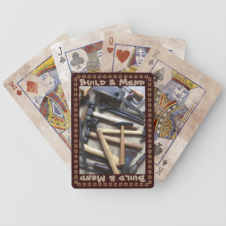 Build & Mend Bicycle Playing Cards