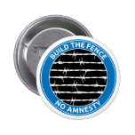 Build The Fence 2 Inch Round Button