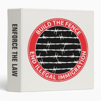 Build The Fence Vinyl Binders