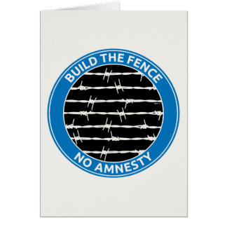 Build The Fence Card