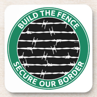 Build The Fence Drink Coaster
