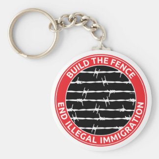 Build The Fence Keychain