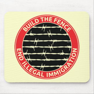 Build The Fence Mouse Pad