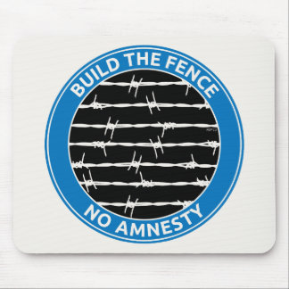 Build The Fence Mousepads