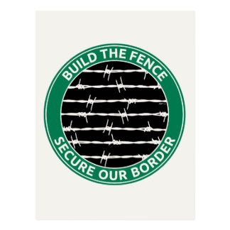 Build The Fence Postcard
