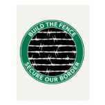 Build The Fence Postcards