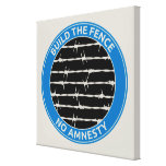 Build The Fence Stretched Canvas Prints