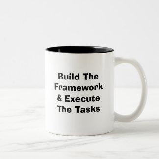 Build The Framework & Execute The Tasks Coffee Mugs