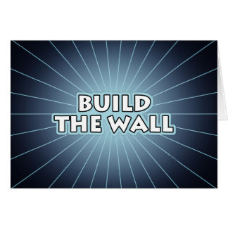 Build The Wall Card