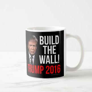 Build the Wall Donald Trump 2016 Coffee Mug