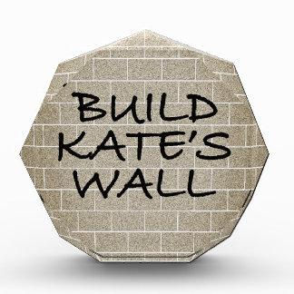 Build the Wall, Kate's Wall Award