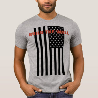 Build the wall - Make America Great Again T-Shirt